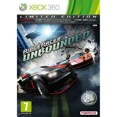 Ridge Racer Unbounded - Limited Edition [Xbox 360, английская версия]