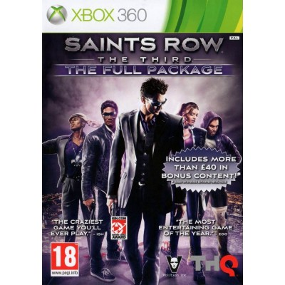 Saints Row the Third - Full Package [Xbox 360, русские субтитры]
