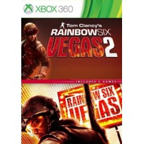 Комплект игр Tom Clancy's Rainbow Six Vegas + Vegas 2 [Xbox 360]