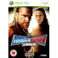 WWE SmackDown vs RAW 2009 [Xbox 360]