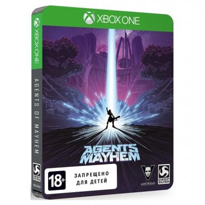 Agents of Mayhem - Steelbook Edition [Xbox One, русские субтитры]