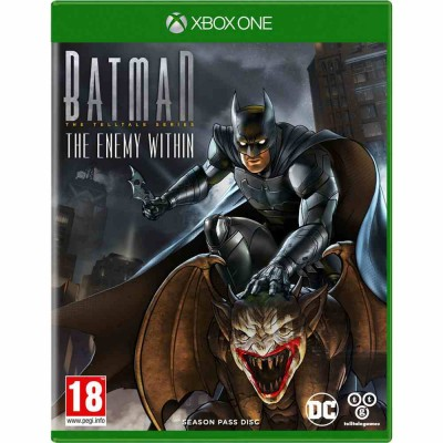 Batman The Enemy Within - The Telltale Series [Xbox One, русские субтитры]