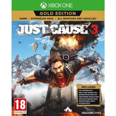 Just Cause 3 - Gold Edition [Xbox One, английская версия]