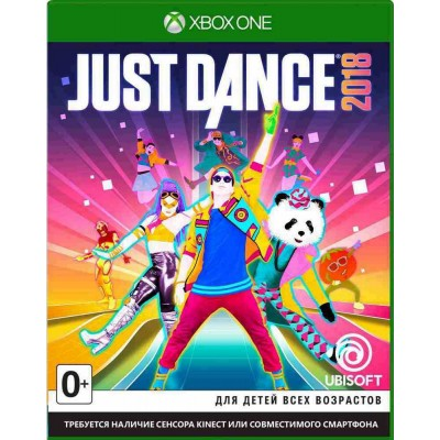 Just Dance 2018 [Xbox One, русская версия]