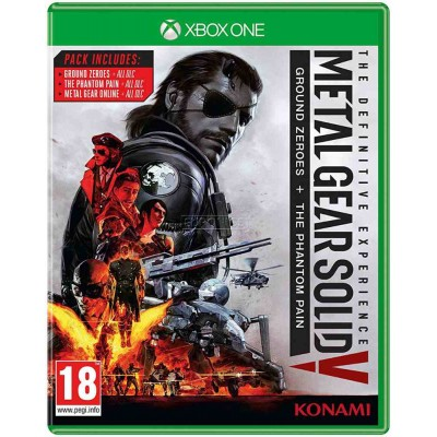 Metal Gear Solid V - Definitive Experience [Xbox One, русские субтитры]