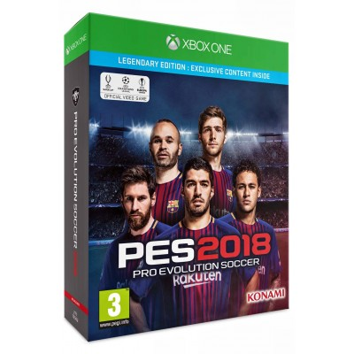 Pro Evolution Soccer (PES) 2018 - Legendary Edition [Xbox One, русские субтитры]