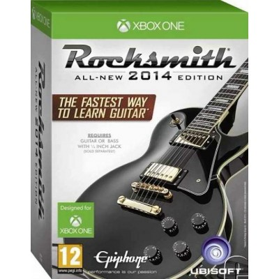 Rocksmith (All-New 2014 Edition) (Игра + кабель для гитары) [Xbox One, английская версия]