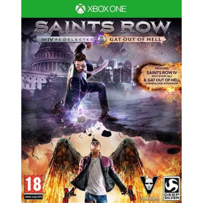 Saints Row IV Re-Elected [Xbox One, русские субтитры]