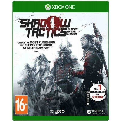 Shadow Tactics - Blades of the Shogun [Xbox One, русские субтитры]