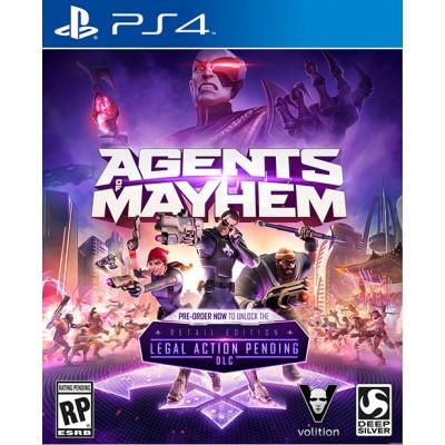 Agents of Mayhem - Издание первого дня [PS4, русские субтитры]