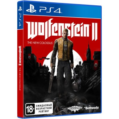Wolfenstein II The New Colossus [PS4, русская версия]