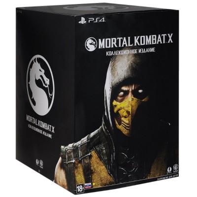 Mortal Kombat X Kollector's Edition [PS4, русская версия]