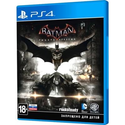 Batman: Рыцарь Аркхема [PS4, русские субтитры]