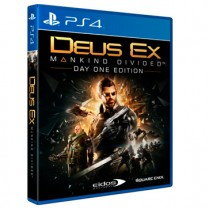 Deus EX: Mankind Divided - Day one edition [PS4]