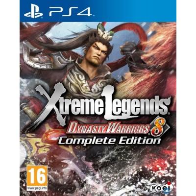 Dynasty Warriors 8: Xtreme Legends - Complete Edition [PS4, английская версия]