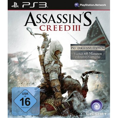 Assassins Creed 3 [PS3, русская версия]