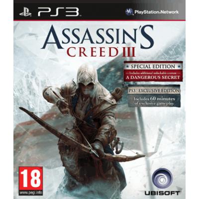 Assassins Creed 3 (Специальное издание) [PS3, русская версия]