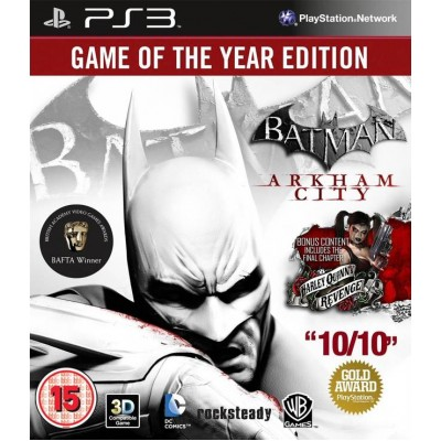 Batman Arkham City - Game of the Year Edition [PS3, русские субтитры]
