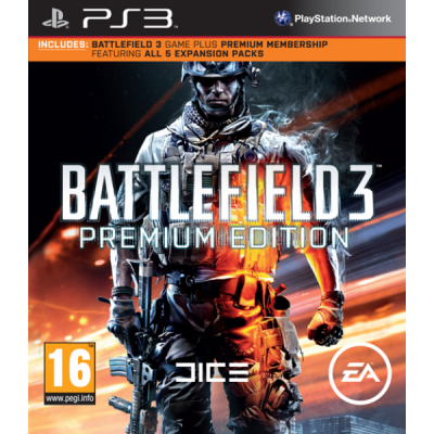 Battlefield 3 Premium Edition [PS3, русская версия]