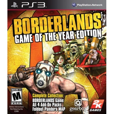 Borderlands Game of the Year Edition [PS3, английская версия]