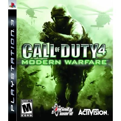 Call of Duty 4 Modern Warfare [PS3, английская версия]