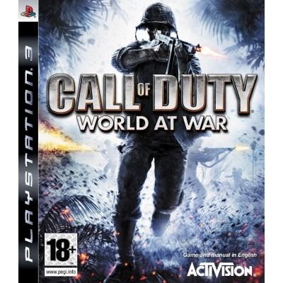 Call of Duty World at War [PS3, английская версия]