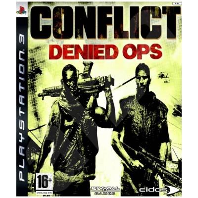 Conflict Denied Ops [PS3, английская версия]