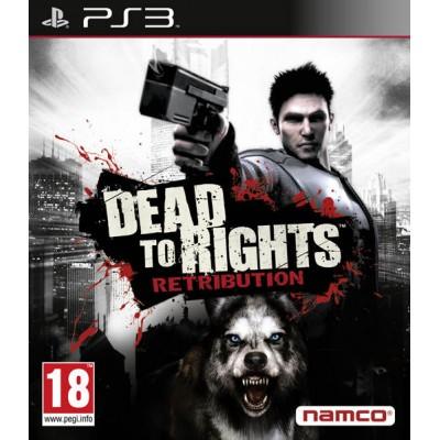 Dead To Rights Retribution [PS3, английская версия]