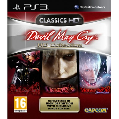 Devil May Cry - HD Collection [PS3, английская версия]