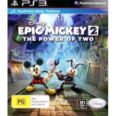 Epic Mickey 2 The Power of Two [PS3, английская версия]