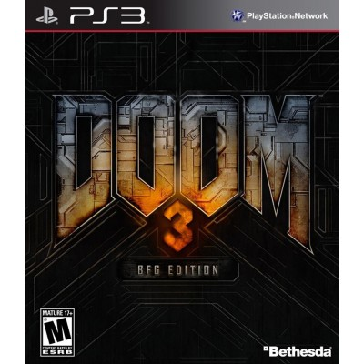 Doom 3 BFG Edition [PS3, английская версия]