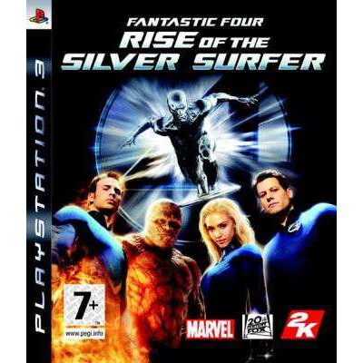 Fantastic Four Rise of the Silver Surfer [PS3, английская версия]