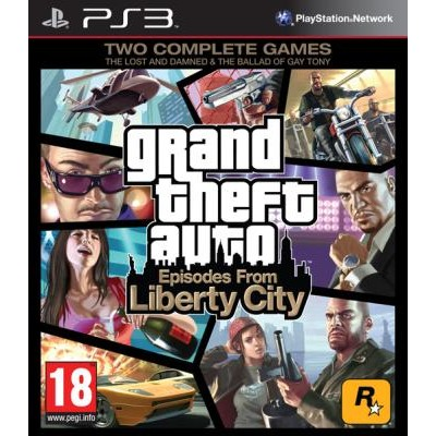 Grand Theft Auto Episodes from Liberty City [PS3, английская версия]