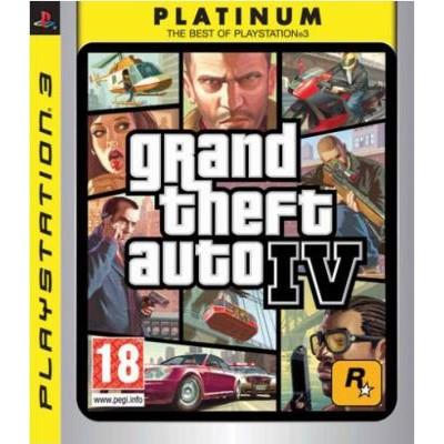 Grand Theft Auto IV (GTA 4) [PS3, английская версия]