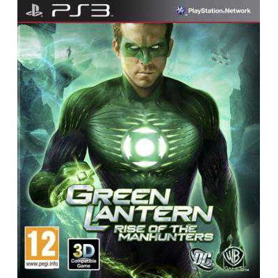Green Lantern - Rise of the Manhunters [PS3, английская версия]
