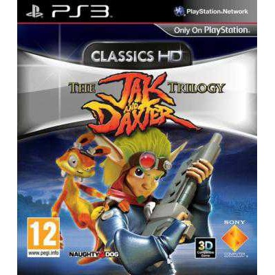 The Jak and Daxter the Trilogy Classics HD [PS3, английская версия]