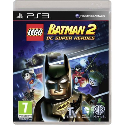 LEGO Batman 2 DC Super Heroes [PS3, русские субтитры]