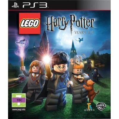 LEGO Harry Potter: Years 1-4 [PS3, русская документация]