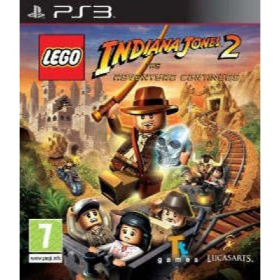 LEGO Indiana Jones 2: The Adventures Continues [PS3, английская версия]