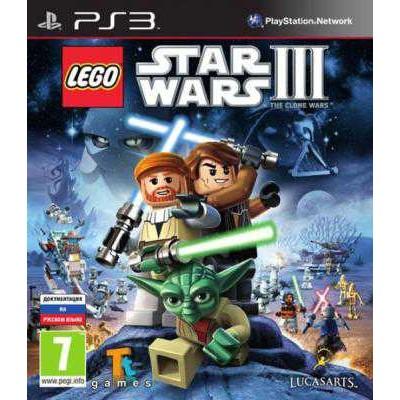 LEGO Star Wars III: The Clone Wars [PS3, английская версия]