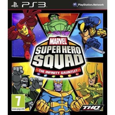 Marvel Super Hero Squad - The Infinity Gauntlet [PS3, английская версия]