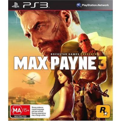 Max Payne 3 [PS3, русские субтитры]