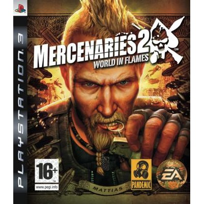 Mercenaries 2 World in Flames [PS3, русские субтитры]