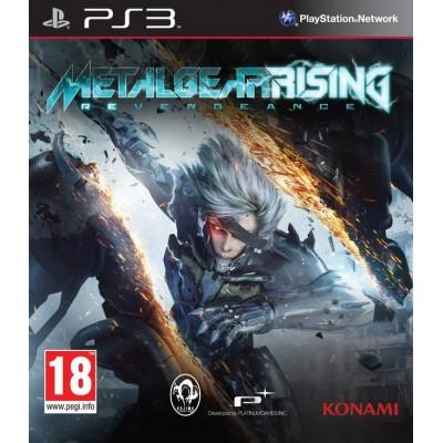 Metal Gear Rising Revengeance [PS3, английская версия]