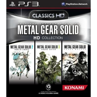 Metal Gear Solid - HD Collection [PS3, английская версия]