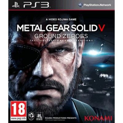 Metal Gear Solid 5 - Ground Zeroes [PS3, русские субтитры]