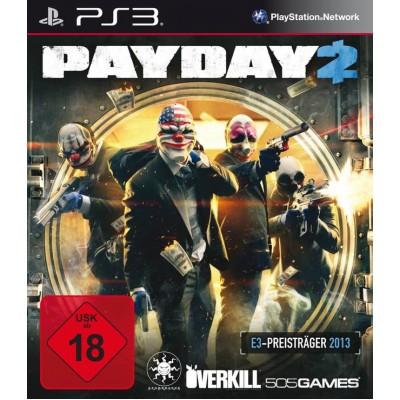 Payday 2 [PS3, английская версия]