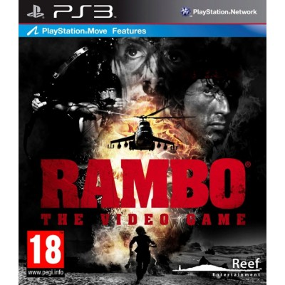 Rambo The Video Game [PS3, английская версия]