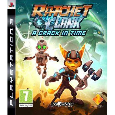 Ratchet and Clank - A Crack in Time [PS3, английская версия]