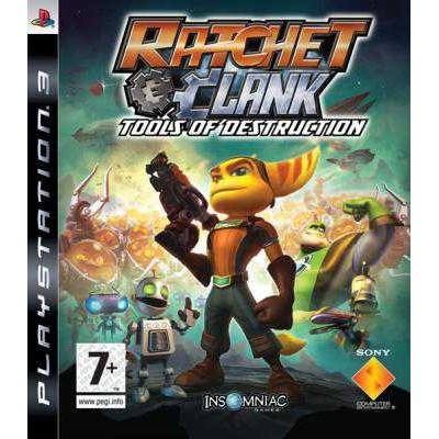 Ratchet and Clank - Tools of Destruction [PS3, английская версия]